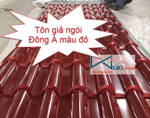 Tôn giả ngói Đông Á màu đỏ