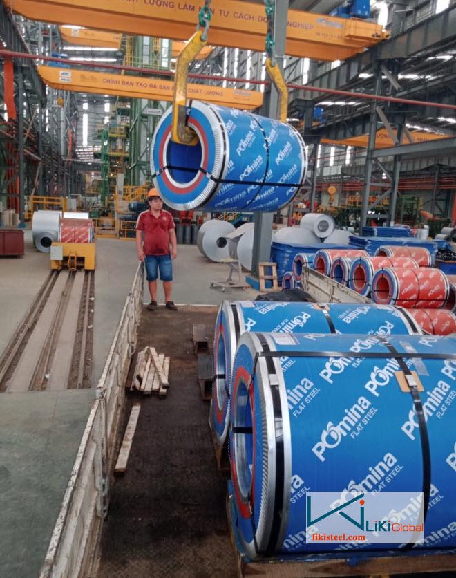 Mua tôn Pomina giá rẻ tại đại lý Liki Steel