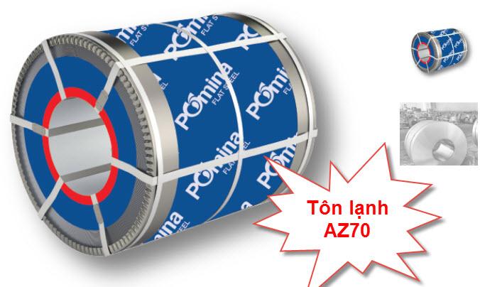 Tôn lạnh Pomina AZ70