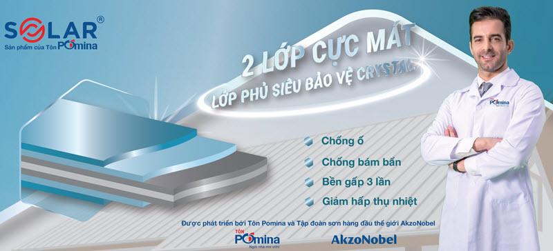 Tôn lạnh solar AZ100